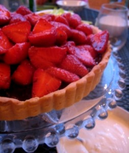 Tuesdays With Dorie, La Palettes Strawberry Tart, Dessert, Sweets, Cooking, Recipes, Culinary, Food and Wine, Food Photography