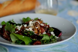 warm mushroom salad, donna hay, easy dinners, cooking, culinary, food and wine, local food, organic food, food blog