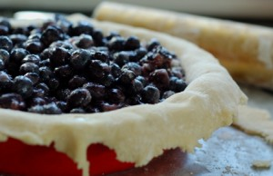 Tuesdays with Dorie, TWD, Blueberry pie