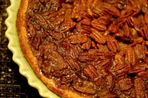 twofer thanksgiving pie, pumpkin and pecan all rolled into one, twd, tuesdays with dorie, pie, baking, dessert, food and wine, food blog, food blog event, cooking, recipes, culinary, thanksgiving desserts
