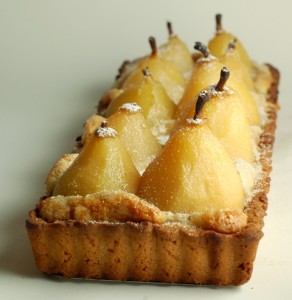 almond pastry cream, TWD, Tuesdays with Dorie, French Pear Tart, baking, dessert, tarts, french pastry, sweets, cooking, culinary, recipes, food and wine, food and drink, food blog, food blog event