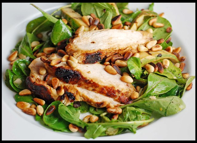 Go Back > Gallery For > Grilled Chicken Salad