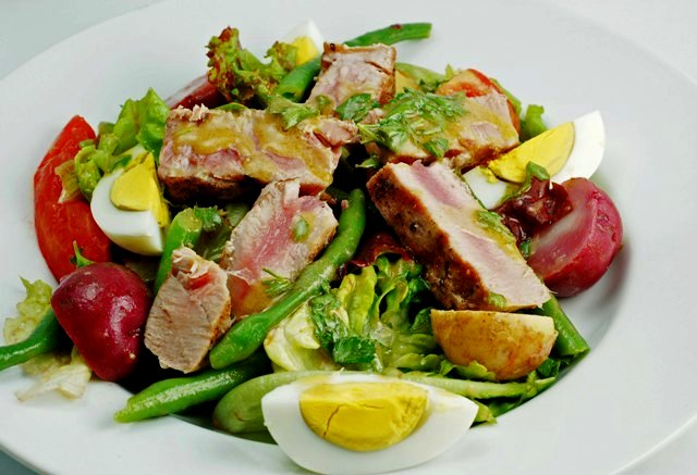 veggie nicoise salad recipe salade nicoise salade niçoise almon salad ...