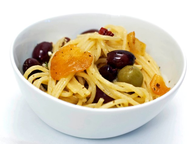 Pasta with Olives 0809