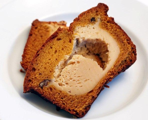 pumpkin cheesecake bread 1009