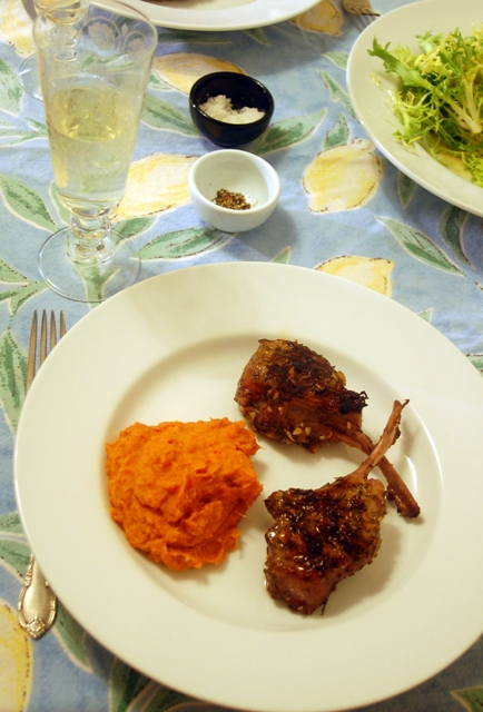 Herb Crusted Lamb Chops 1209