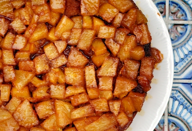 Pineapple Upside Down Cake 1209