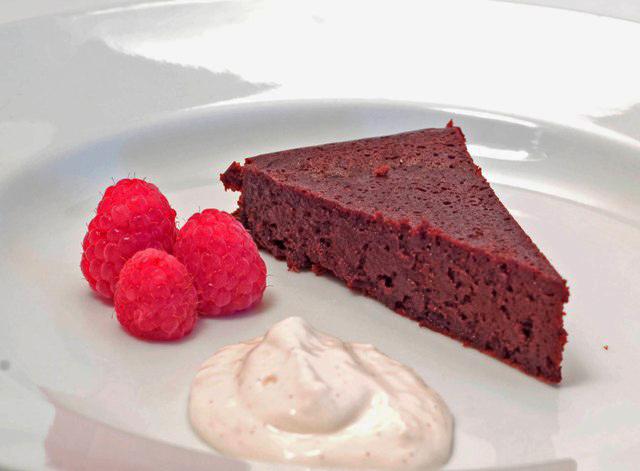 flourless cake