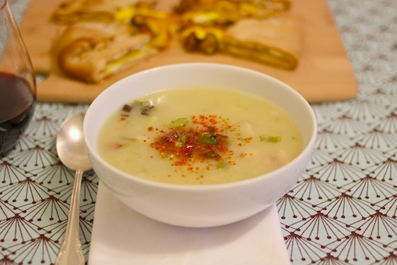 Potato Leek Soup 0410