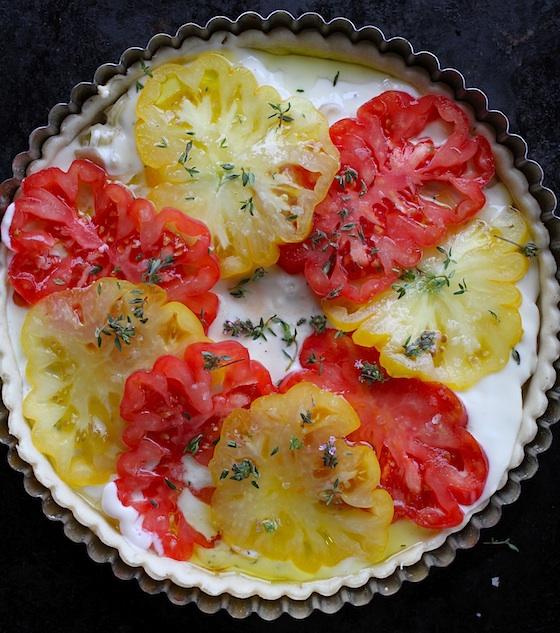 Savory Tomato Tart 0410